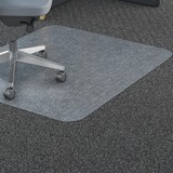 Lorell Polycarbonate Rectangular Studded Chair Mat