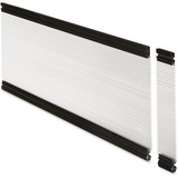 "Lorell Desktop Panel System Glazed Panel - 39.9"" Width11.8"" Height x 500 mil Thickness - Plexiglass, LLR87626"