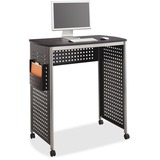 Safco® Scoot Stand-Up Workstation, 39 1/2w x 23 1/4d x 42h, Black SAF1908BL