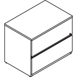 LAS4L2436LFY - Lacasse Lateral File Unit - 2-Drawer