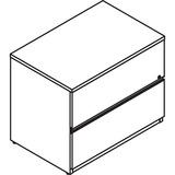 LAS4L2436LFO - Lacasse Lateral File Unit - 2-Drawer