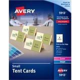 AVE5913 - Avery® Small Tent Cards, Uncoated, Ivory,...