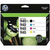 HP 940XL/940 Ink Cartridge - Black, Cyan, Magenta, Yellow