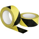 "SKILCRAFT Hvy-duty Poly Floor Safety Marking Tape - 2"" Width x 36 yd Length - 3"" Core - Plastic, Vin NSN6174251"