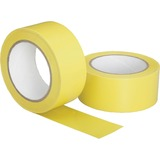 "SKILCRAFT Hvy-duty Poly Floor Safety Marking Tape - 2"" Width x 36 yd Length - 3"" Core - Plastic, Vin NSN6174257"