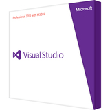 Microsoft Visual Studio 2013 Professional With MSDN - Complete Product - 1 User