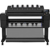 "HP Designjet T2500 Inkjet Large Format Printer - 35.98"" - Color"