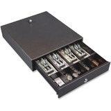 FireKing® Hercules Cash Drawer, Two Keys, 13 x 14 1/2, Charcoal Gray FIRCD1314