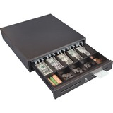 FireKing® Hercules Cash Drawer, Two Keys, 16 1/2 x 17 1/2, Charcoal Gray FIRCD1317