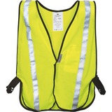 3M Reflective Yellow Safety Vest - Visibility Protection - Polyester - Yellow, Silver - 1 Each MMM9460180030T