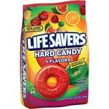 Wrigley Life Savers 5 Flavors Hard Candies - Cherry, Raspberry, Watermelon, Orange, Pineapple - Indi MRS22732