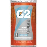 Gatorade G2 Single Serve Powder - Powder - Glacier Freeze Flavor - 0.52 fl oz - 8 / Pack QKR13160