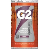 Gatorade G2 Single Serve Powder - Powder - Grape Flavor - 0.52 fl oz - 8 / Pack QKR13167