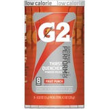 Gatorade G2 Single Serve Powder - Powder - Fruit Punch Flavor - 0.52 fl oz - 8 / Pack QKR13168