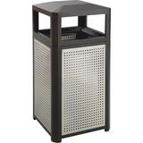 SAF9934BL - Safco Evos Series Steel 38-gal Waste Receptacle