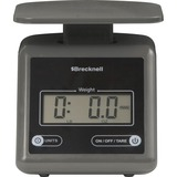 SBWPS7GRAY - Brecknell Electronic 7lb Postal Scale