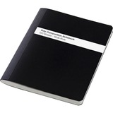 "TOPS Poly Cover Composition Book - 100 Sheets - Printed - Sewn 7.50"" x 9.75"" - White Paper - Black C TOP73795"