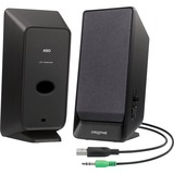 Creative SBS Series A50 2.0 Speaker System - 0.8 W RMS - Desktop - Black