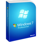 Microsoft Windows 7 Professional With Service Pack 1 64-bit - License and Media - 1 PC