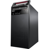 Lenovo ThinkCentre E73 10AS002JUS Desktop Computer - Intel Core i3 i3-4130 3.40 GHz - Tower - Glossy Black