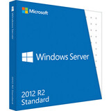 HP Microsoft Windows Server 2012 R.2 Standard 64-bit - License and Media - 2 Processor