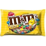 M&M's Peanut Zipper Bag Chocolate Candies - Peanut - Resealable Zipper - 1.20 lb - 1 / Bag MRS24929