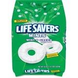 Wrigley Life Savers Wint-O-Green Mint - Wintergreen - Individually Wrapped - 3.12 lb - 1 / Bag MRS21524