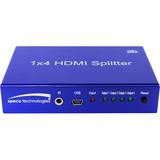Speco 1 to 4 HDMI Splitter