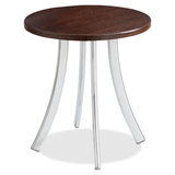 Safco Decori Wood Side Table, Short