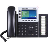 Grandstream GXP2160 IP Phone - Wired/Wireless - Bluetooth - Desktop, Wall Mountable