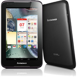 "Lenovo IdeaTab A1000L 16 GB Tablet - 7"" - In-plane Switching (IPS) Technology - Wireless LAN - MediaTek Cortex A9 MT8317 Dual-core (2 Core) 1.20 GHz - Black"