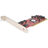 StarTech.com 4 Port PCI SATA RAID Controller Adapter Card