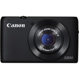 Canon PowerShot S200 2 Megapixel Compact Camera - Black