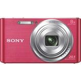 Sony Cyber-shot DSC-W830 20.1 Megapixel Compact Camera - Pink