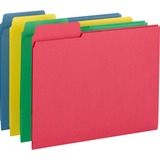 Smead® 3-in-1 SuperTab Section Folders, 1/3 Cut Top Tab, Letter, Assorted, 12/Pack SMD11905