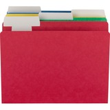 Smead® FlexiFolder Heavy Folders with Movable Tabs, Assorted, 1/3 Cut, Letter, 12/Pack SMD10404