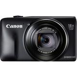 Canon PowerShot SX600 HS 16 Megapixel Compact Camera - Black