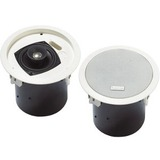 Bosch LC2-PC30G6-4 30 W RMS - 50 W PMPO Speaker - 2-way - 2 Pack - White