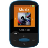 SanDisk Clip Sport SDMX24-008G 8 GB Flash MP3 Player - Blue