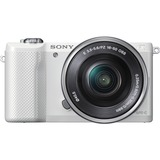 Sony alpha ILCE-5000L 20.1 Megapixel Mirrorless Camera with Lens - 16 mm - 50 mm - White