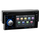 Boss Audio BV7464B Single-DIN 4.6 inch Touchscreen DVD Player Receiver, Bluetooth, Detachable Front Panel, Wireless Remote - 4 Channels - DVD+RW, DVD-RW, CD-RW - DVD Video, VCD, MP4 - CD-DA, MP3, WMA - AM, FM - SD - Bluetooth - USB - Auxiliary Input - In-dash