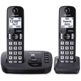 Panasonic KX-TGD222N DECT 6.0 1.90 GHz Cordless Phone - Champagne Gold - Cordless - 1 x Phone Line - PANKXTGD222N