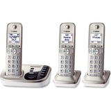 Panasonic KX-TGD223N DECT 6.0 1.90 GHz Cordless Phone - Champagne Gold - Cordless - 1 x Phone Line - PANKXTGD223N