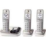 Panasonic KX-TGD223N DECT 6.0 1.90 GHz Cordless Phone - Champagne Gold - Cordless - 1 x Phone Line - PANKXTGD223N