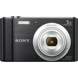 Sony DSC-W800 20.1 Megapixel Compact Camera - Black