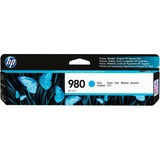 HP D8J07A (HP 980) Ink, 6600 Page-Yield, Cyan HEWD8J07A
