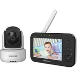 Samsung Techwin SEW-3041W BrilliantVIEW Baby Monitoring System IR Night Vision PTZ 4.3 inch