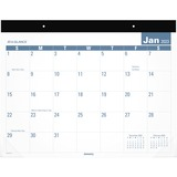 AT-A-GLANCE® Easy-to-Read Monthly Desk Pad, 22 x 17, Easy-to-Read, 2017 AAGSKLP2432
