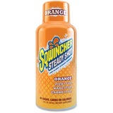 Sqwincher Steady Shot Flavored Energy Drinks - Orange Flavor - 2 fl oz - Bottle - 12 / Pack SQW200500OR