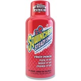Sqwincher Steady Shot Flavored Energy Drinks - Fruit Punch Flavor - 2 fl oz - Bottle - 12 / Pack SQW200501FP